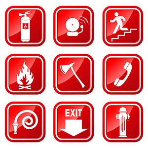 Realized Emergency Drill in case of Fire